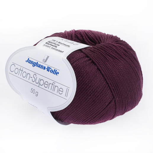 Cotton-Superfine II von Junghans-Wolle