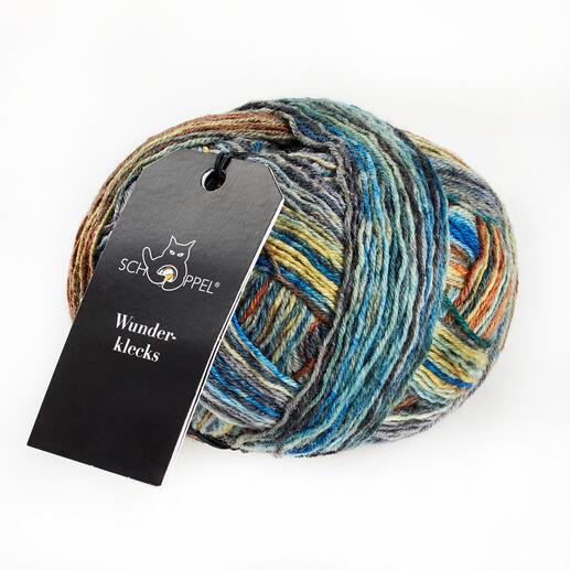 Sockenwolle Wunderklecks von Schoppel Wolle