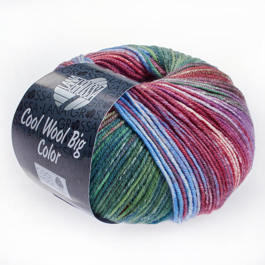 cool wool big color von lana grossa 10 versch farben. Black Bedroom Furniture Sets. Home Design Ideas