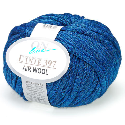 Linie 397 Air Wool von ONline, Blau