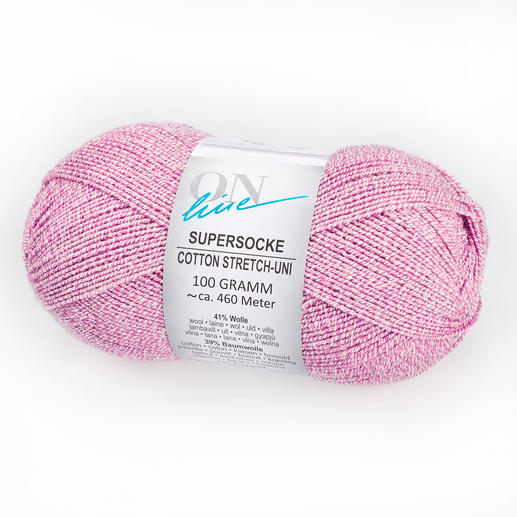 Supersocke Cotton Stretch Uni von ONline