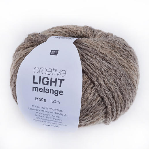 Creative Light Melange von Rico Design, Natur Mix