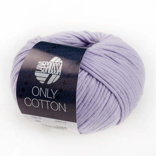 Only Cotton von Lana Grossa, Flieder