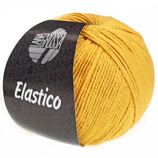 Lana Grossa 147 dunkelgrün 50 g Wolle Kreativ Elastico Fb