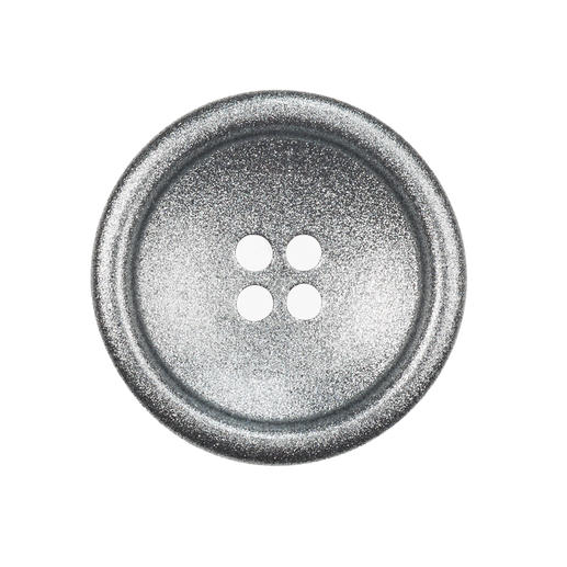 Knopf, Silber, 1 Stück, Ø 20 mm
