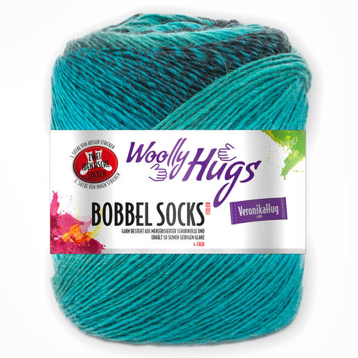 Bobbel Socks Color von Woolly Hugs