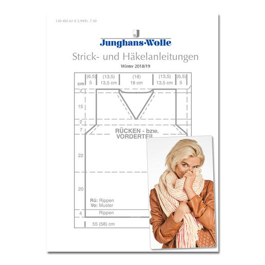 Anleitungsheft WoolDesign Winter 2018/19