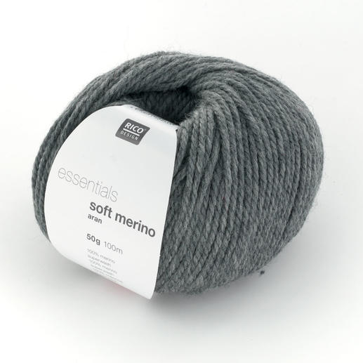 Essentials Soft Merino Aran von Rico Design