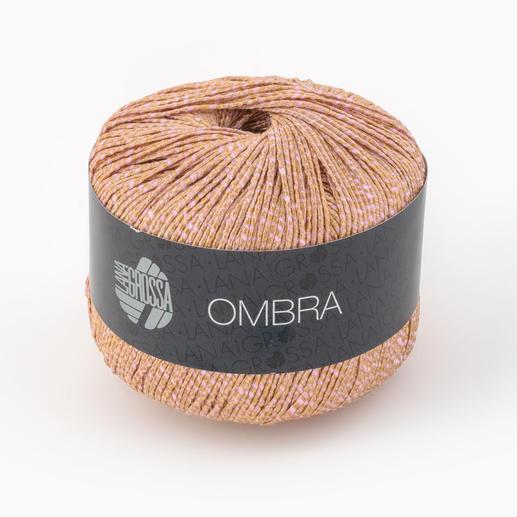 Ombra von Lana Grossa, Gold/Rosa
