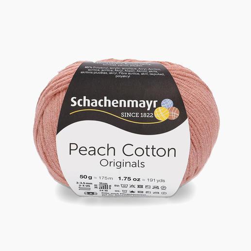 Peach Cotton von Schachenmayr
