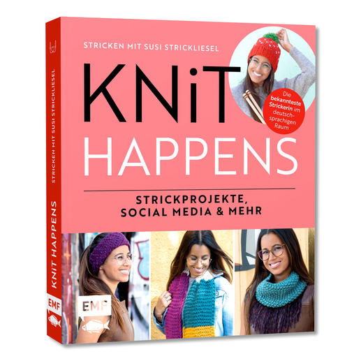 Buch - Knit Happens