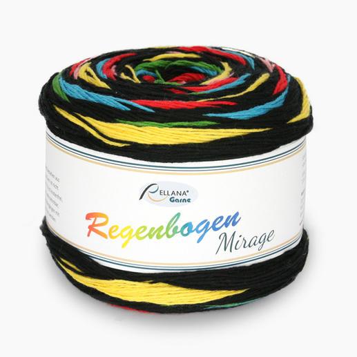 Regenbogen Mirage von Rellana® Garne