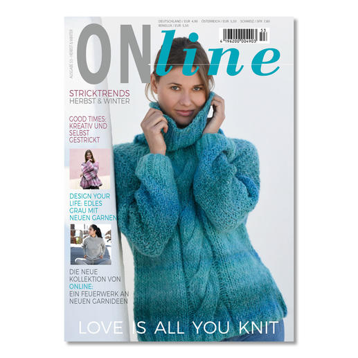 Heft - ONline Stricktrend Herbst & Winter Ausgabe 53
