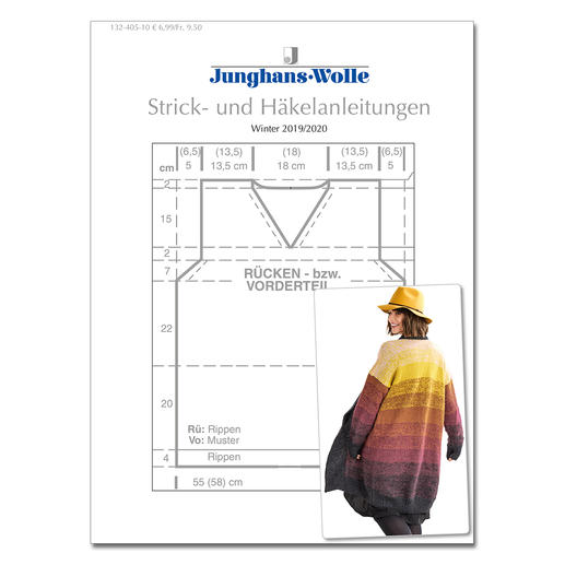 Anleitungsheft WoolDesign Winter 2019/20