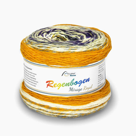 Regenbogen Mirage Royal von Rellana® Garne