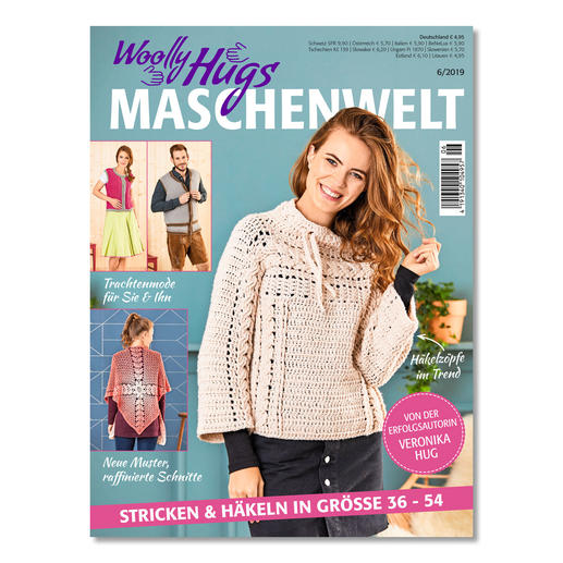 Heft - Woolly Hugs Maschenwelt 06/19