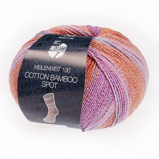 Meilenweit 100 Cotton Bamboo Spot von Lana Grossa