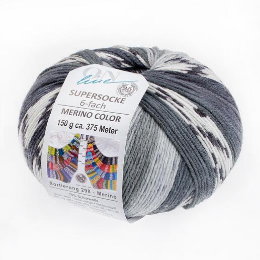 2568 Grau/Weiß