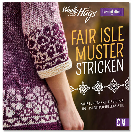 Buch - Woolly Hugs Fair-Isle-Muster stricken