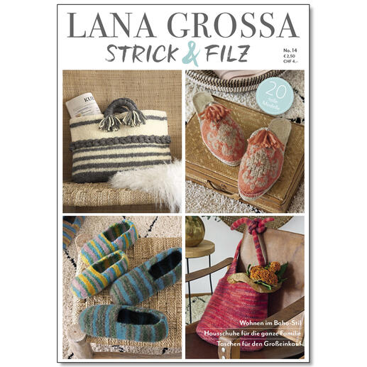 Heft - Lana Grossa Strick & Filz Nr. 14