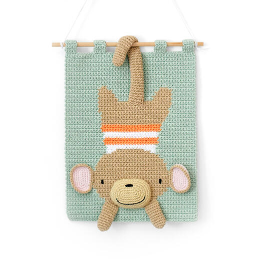 Wandbehang - Monkey