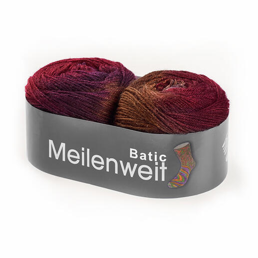 6102 Schokobraun/Burgunder/Weinrot