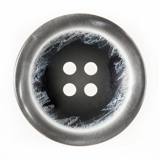 Knopf 4-Loch, grau, Ø 25 mm