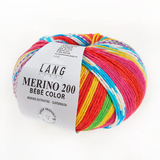 Merino 200 Bébé Color von LANG Yarns