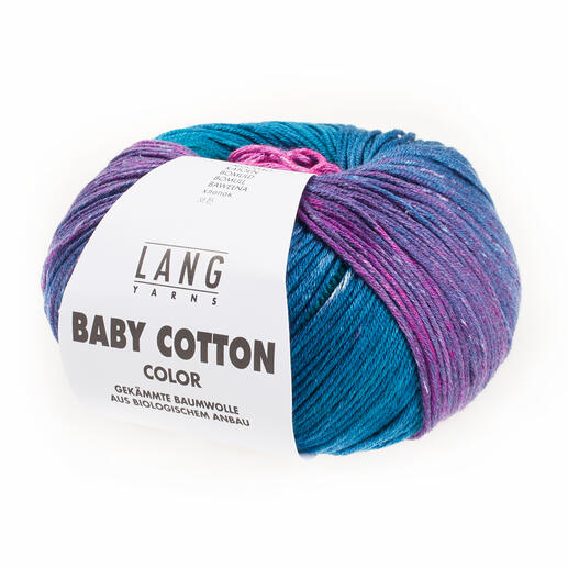 Baby Cotton Color von LANG Yarns