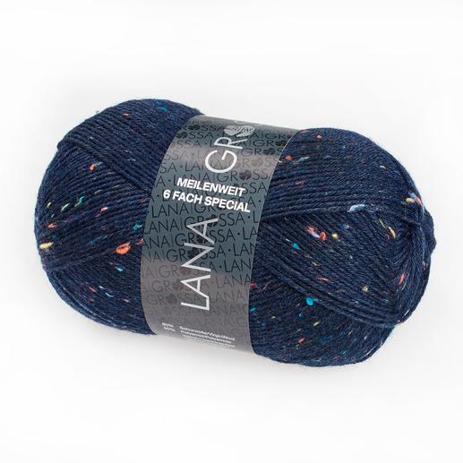 Meilenweit 6fach Tweed von Lana Grossa