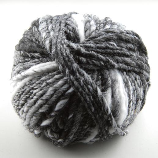 Olympia Color von Lana Grossa - % Angebot %, Schwarz/Grau/Weiß