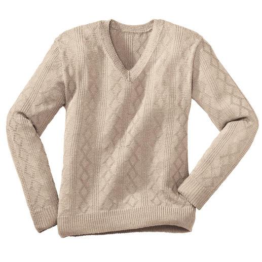Anleitung 218/0, Herrenpullover aus Seidana® von Junghans-Wolle