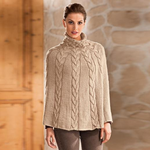 Anleitung 178/1, Damenponcho aus Peru von Junghans-Wolle