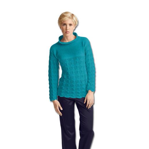 Anleitung 443/4, Pullover aus Seidana® von Junghans-Wolle
