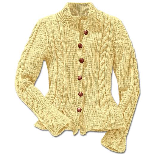 Anleitung 157/4, Damenjacke aus Landwolle von Junghans-Wolle