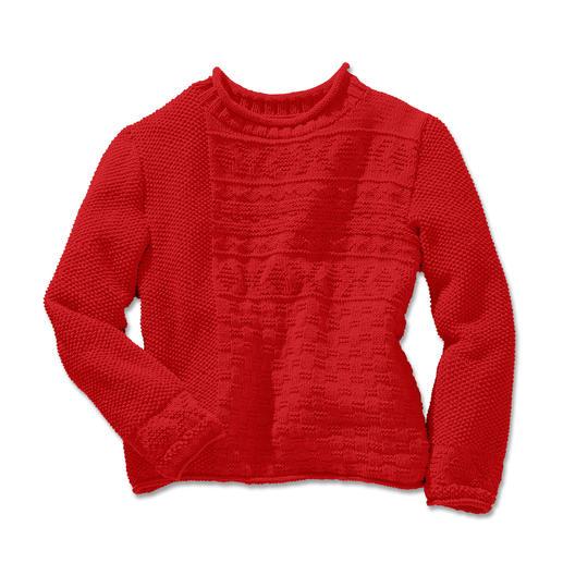 Anleitung 286/4, Pullover aus Cotonia II von Junghans-Wolle