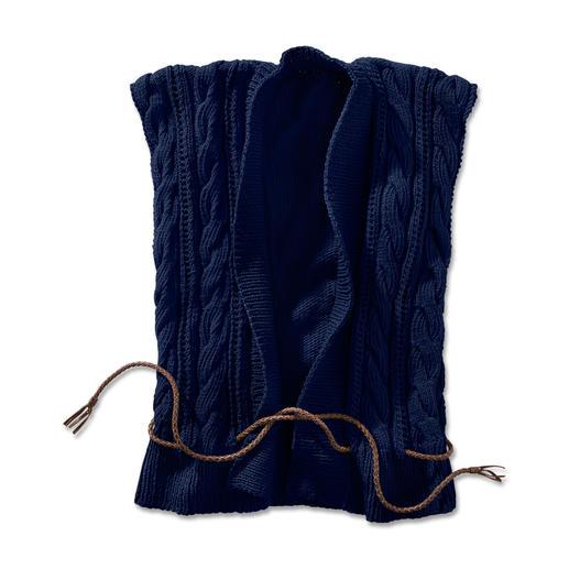 Anleitung 288/4, Weste aus Cotonia II von Junghans-Wolle