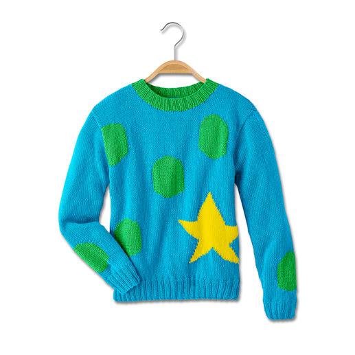 Anleitung 463/5, Pullover aus Micro von Junghans-Wolle