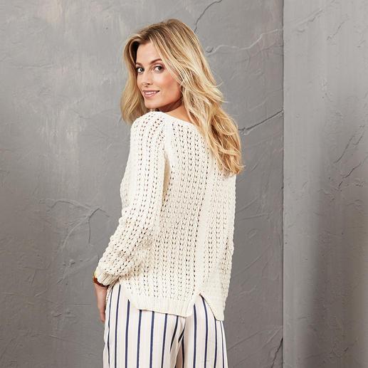 Anleitung 468/5, Pullover aus Merino-Cotton von Junghans-Wolle