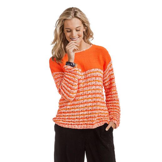 Anleitung 033/7, Damen Pullover aus Trevisa, Cotonara, und Bandana von Junghans-Wolle