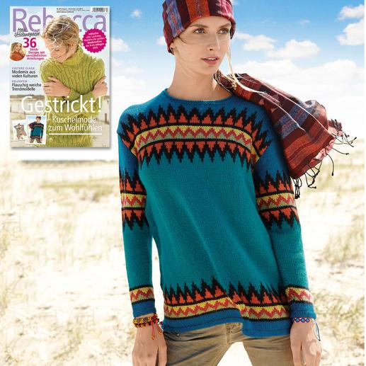 Anleitung 323/7, Pullover aus Baby Alpaka von ggh, Modell aus Rebecca Heft Nr. 67