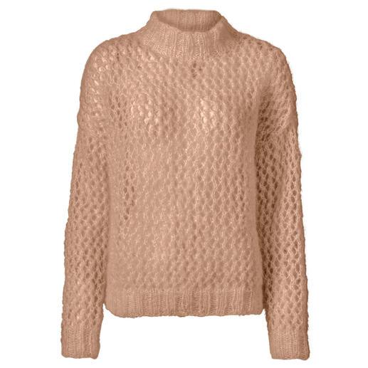 Anleitung 425/7, Damen Pullover aus Feelana von Junghans-Wolle