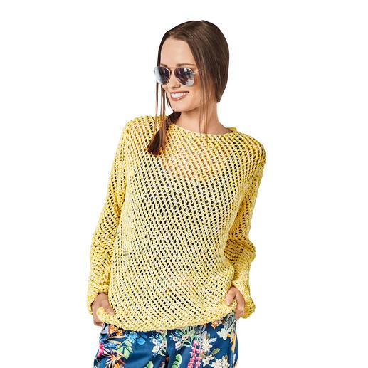 Anleitung 007/8, Pullover aus Trevisa von Junghans-Wolle