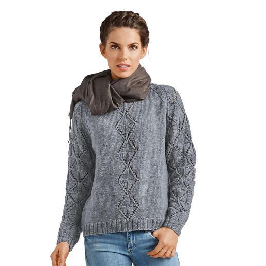 Anleitung 132/8, Pullover aus Merino-Extrafein von Junghans-Wolle