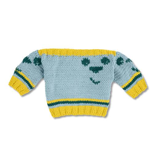 Anleitung 138/8, Baby-Pulli aus Cotonara von Junghans-Wolle