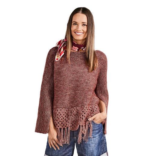 Anleitung 170/8, Damen Pullover aus Alpaca-Cotton von Junghans-Wolle