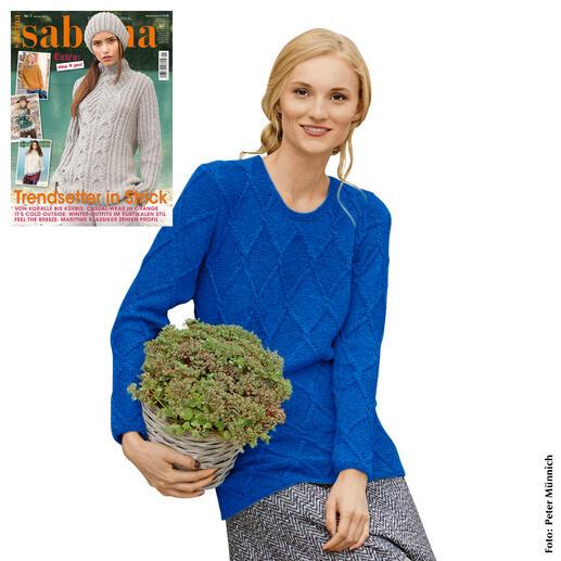 Anleitung 190/8, Damenpullover aus Kaschmir von Junghans-Wolle