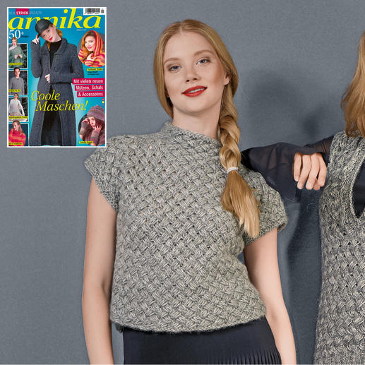 Anleitung 196/8, Damen Pullover aus Alpaca-Cotton von Junghans-Wolle