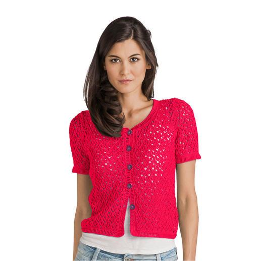 Anleitung 238/8, Damen Jacke aus Cotton-Superfine II von Junghans-Wolle