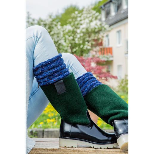 Anleitung 248/8 C, Stiefel-Manschetten aus Landlord von Junghans-Wolle